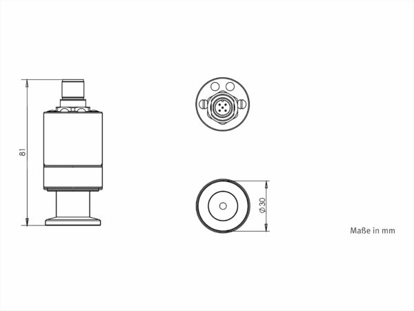 VSP63MA4 Abmessungen / Dimensions