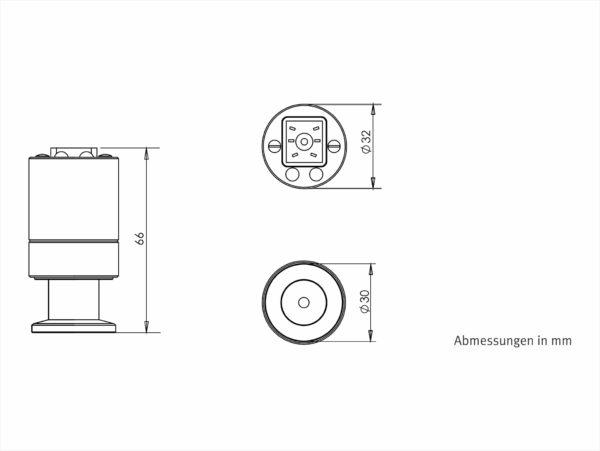 VSP63MV Abmessungen / Dimensions