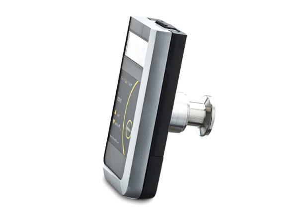 vd8 compact vacuum meter, side view